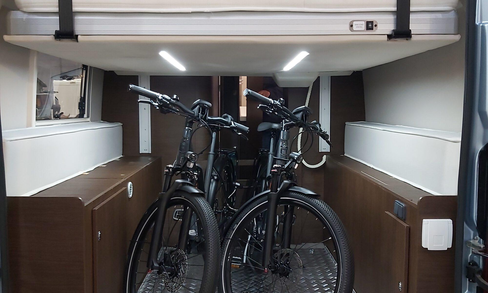 Bikes im Wagen