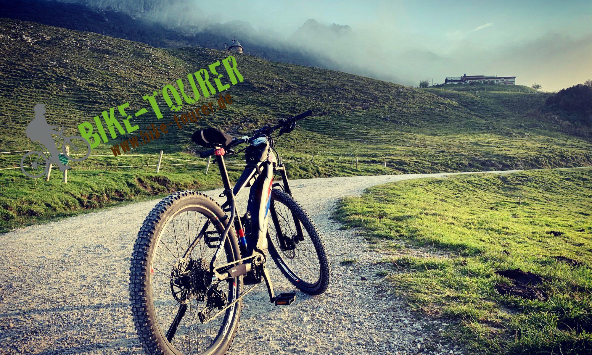 Bike in den Bergen
